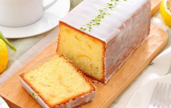 Lemon Frosted Pound Cake