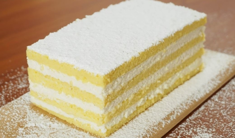 Fluffy Cotton Soft Vanilla Cake