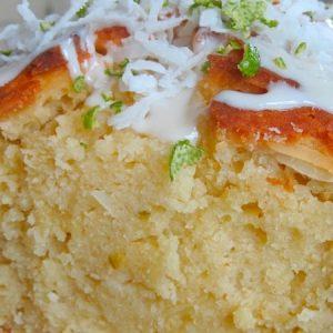 Vanilla Coconut Pound Cake