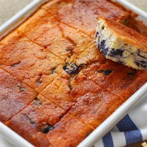 Yoghurt Blueberry Cake