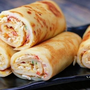 Crepe Egg Roll