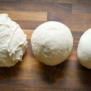 Three Different Types Of Dough