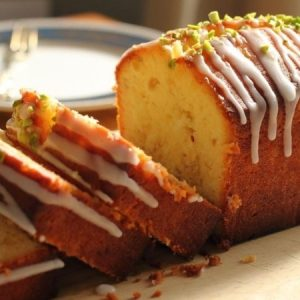 Ginger and Lemon Pound Cake