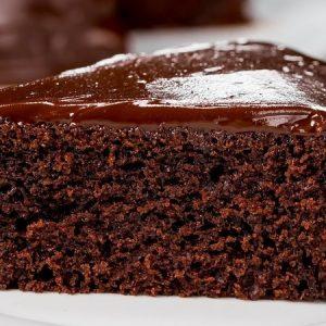 Spongy Eggless Chocolate Cake