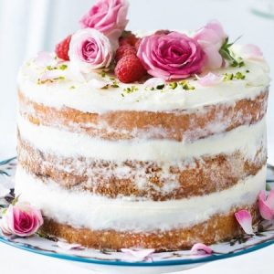 Vanilla Naked Cake