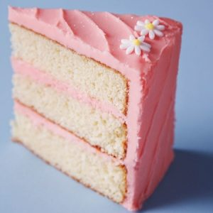 Vanilla Pink Cake