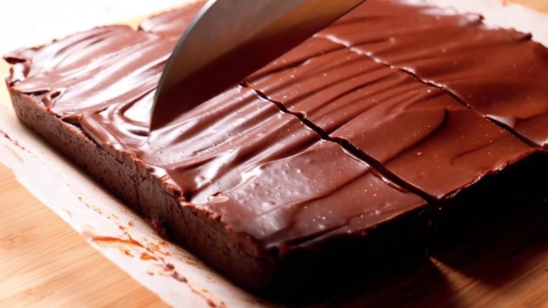 No-bake Fudgy Brownies