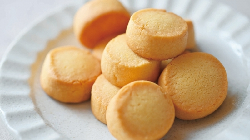 3-Ingredient Plain Cookies