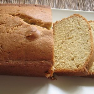 Brown Butter Sponge Cake