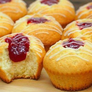 Fluffy Soft Lemon Muffins