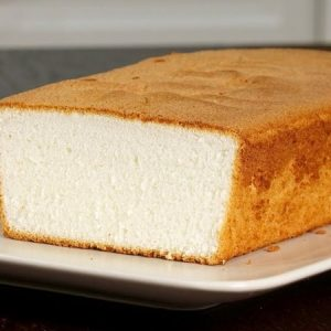 Incredibly Tender Butter Pound Cake
