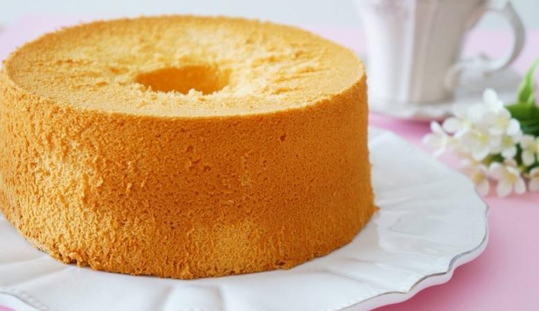 Vanilla Chiffon Cake Kitchen Cookbook