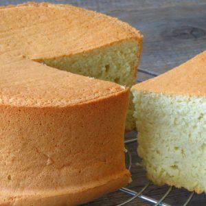 Fluffy Genoise Sponge Cake