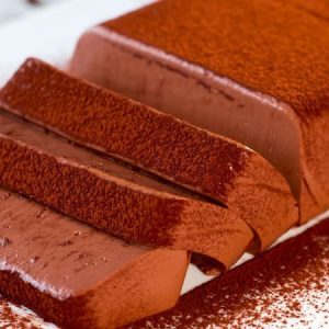 Delicious Soft Chocolate Mousse