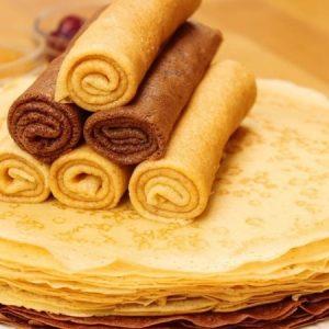 Custard Pancakes