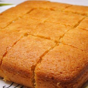 Semolina And Coconut Cake