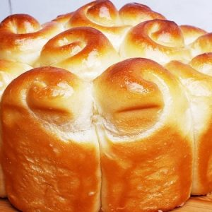 Soft and Fluffy Texture Brioche Bread