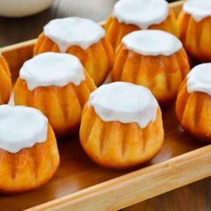 Mini Vanilla Bundt Cake