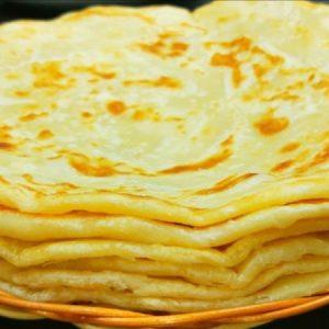 Soft, Multi-layered Chapatis