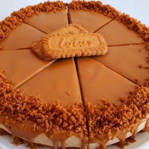 No-Bake Biscoff Cheesecake