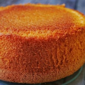 Super Light Lemon Pound Cake