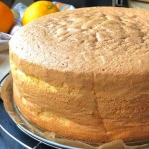 Super Spongeous Orange Cake