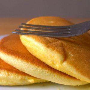 Fluffy Yogurt Pancakes
