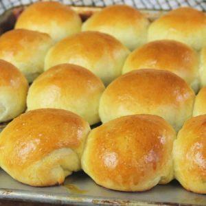 Soft Butter Yeast Rolls