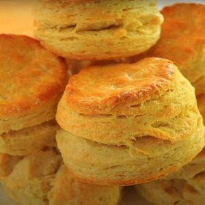 A Perfect Golden Brown Crusty Biscuits