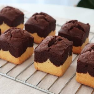 Mini Brownies Butter Pound Cake
