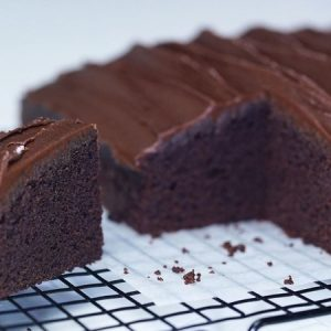 Fluffy, Moist, and Rich Chocolate Sheet Cake