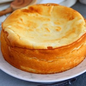 Cotton Soft, Light, Pillowy Cheesecake