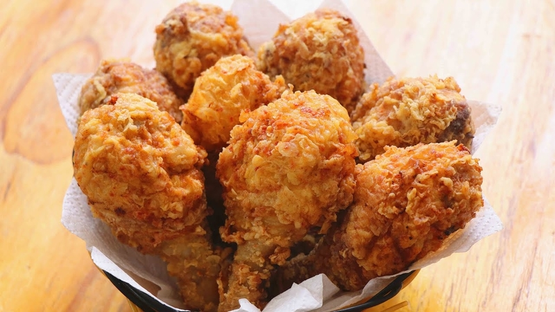 The Crispiest Fried Chicken Ever