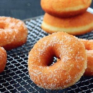 Simple Sugar Donuts