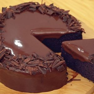 5 Minutes No-oven Chocolate Cake