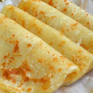 Homemade Plain Paratha Recipe