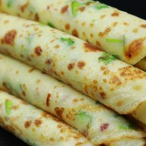 Green Onion Paratha