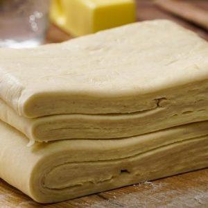 Butter Flaky Pie Crust Dough