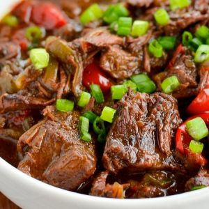 Spicy Poached Beef Recipe