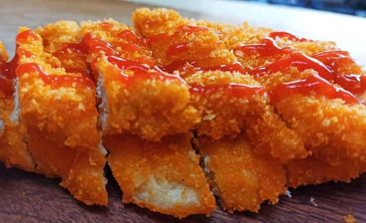 Crunchy Spicy Chicken Cutlets