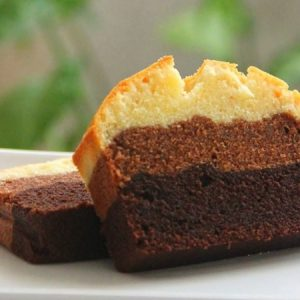 Chocolate Ombré Butter Cake