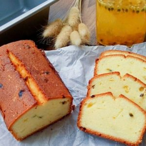 Passion Fruit Pound Cake
