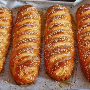 Sesame Sandwich Rolls