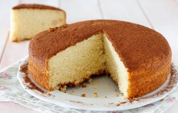 Butterscotch Blondie Cake