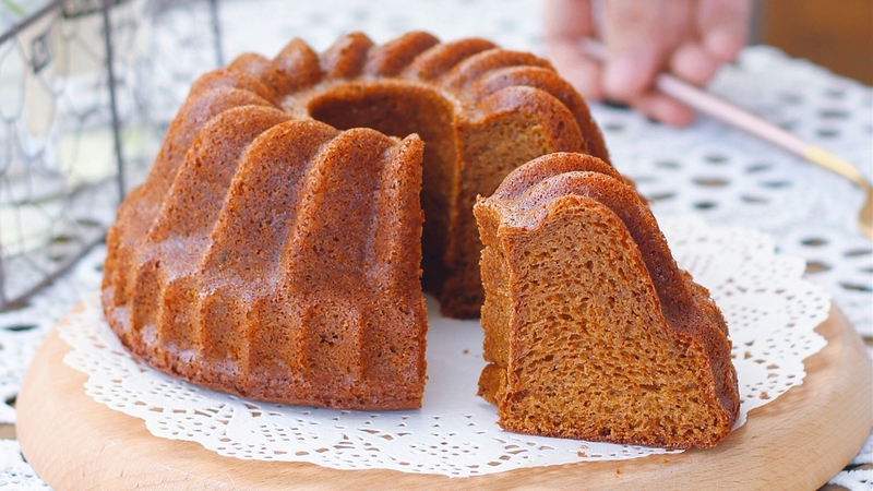 Brown Butter Caramel Pound Cake