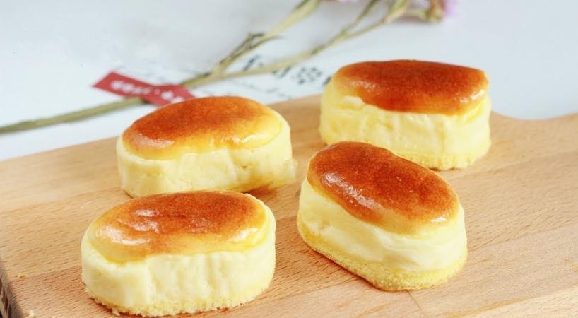 Super Soft Half-baked Cheesecake