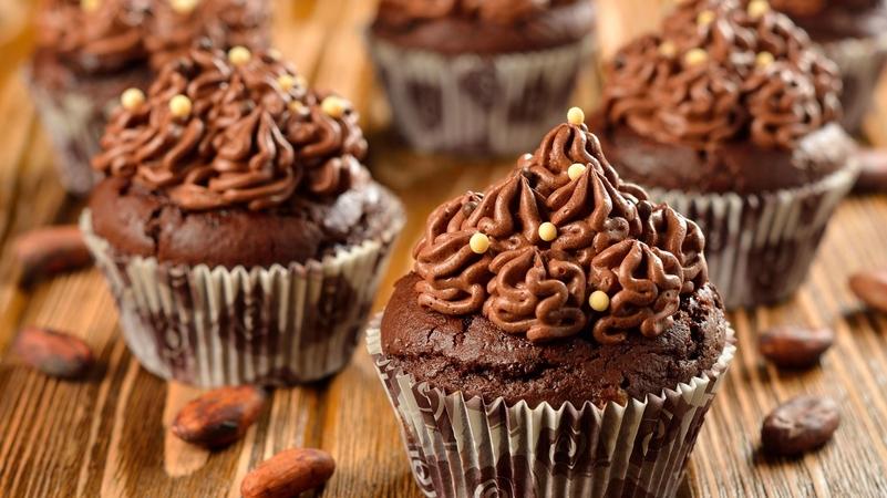 Hot Coffee Chocolate Cupcakes