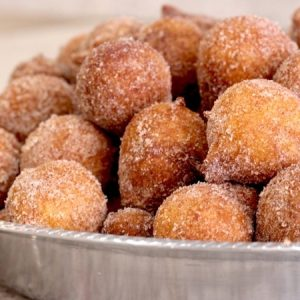 Homemade Donut Holes Recipe