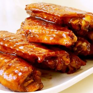 Braised Chicken Wings, Finger Licking Good