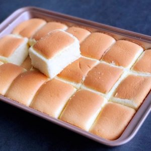 Cube Chiffon Cake